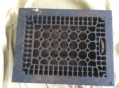 Antique grate honeycomb style vent architectural heating vent has louvers