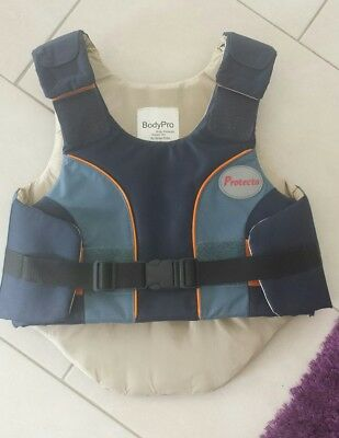 Reitweste Sicherheitsweste Kinder reiten Body Pro Protector Child M Level 3 TOP