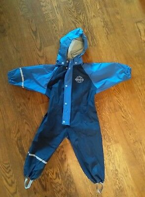 Boys All in One Abeko Swedish Waterproof Puddlesuit 12-24 months