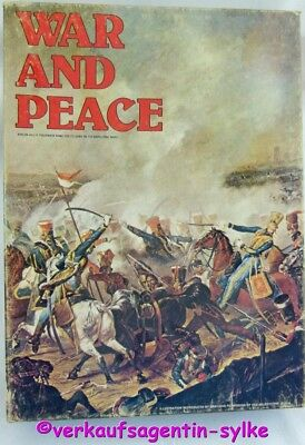 WAR AND PEACE Avolon Hill´s  Game on the Napoleonic Wars in Englisch, unbenutzt