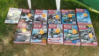 LARGE BUNDLE - Military In Scale Magazines (108 issues) New Lower Price!