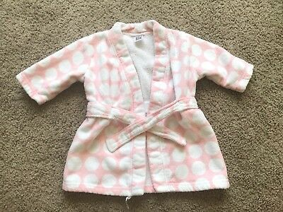 Carters Baby Girl Robe One Size