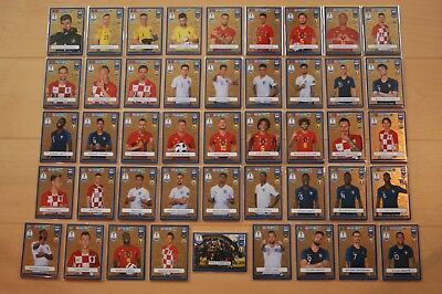 Panini Adrenalyn XL FIFA 365 2019 FIFA World Cup Heroes Karten aussuchen choose