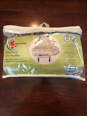 Brand New Croc n frog 2-in-1 Shopping Cart Cover   High Chair Cover for Baby