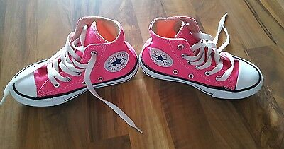 CONVERSE KIDS CHUCK All Star Sneaker High Pink Rosa Kinder
