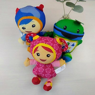 Milli Geo Bot Team Umizoomi pkush doll 3pcs/set