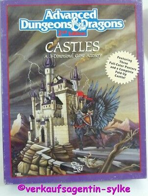 ADVANCED DUNGEONS & DRAGON 2.Edition Castles 3-Dimensional Accessory in Englisch