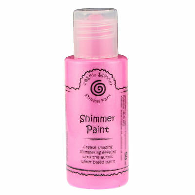 Cosmic Shimmer Acrylic Shimmer Paint 50ml - Pink Blossom