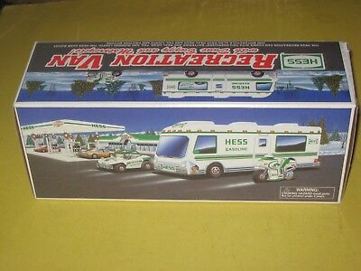 Hess  Truck  { CAMPER } Recreation Van w/Motorcycle & Dune Buggy -in orig BOX