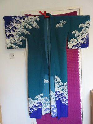 Japanese Summer Kimono - Purchased in Kyoto