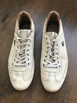3d589b9d9ef5bb Lacoste Men s Misano 34 Fashion Off-White Sneakers Shoes US Size 11 Preowned