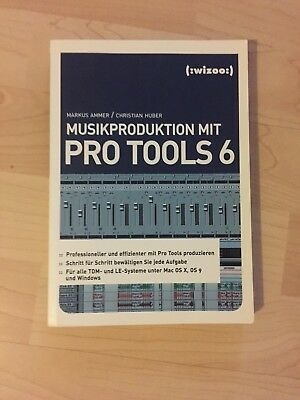 Musikproduktion mit Pro Tools 6 Synthesizer Tutorial DAW wizoo Buch Digital Synt