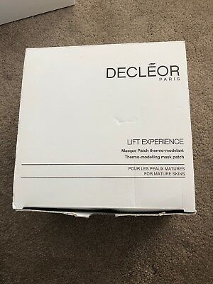 Decleor Lift Experience Professional Mask (4 Masks In Box) New