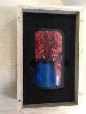 Arctic Dolphin Adonis 80W Akkuträger, Stabwood, Stabilisiertes Holz, High End!