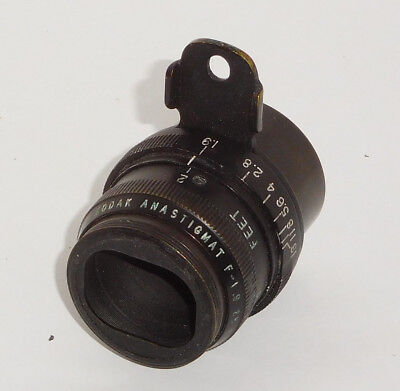 Kodak Anastigmat Black (Military) 25mm F/1.9 ~ M Mount Cine Lens