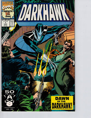 Darkhawk #1 (1991) NM- 9.2 Direct Edition