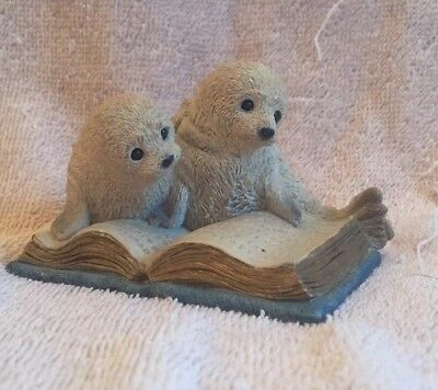 Stone Critters Harp Seals Reading Book SC- 715.