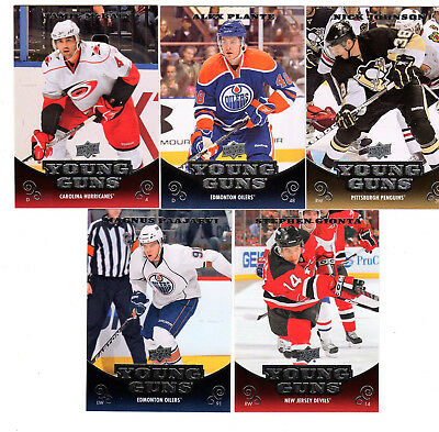 2010-11 Upper Deck Hockey Young Guns You Pick One or More Rookie Cards from list