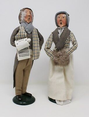 Byers Choice Caroler Adult Couple Beautiful 1991 Series Grandma Grandpa Older