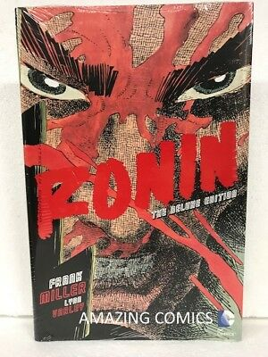 DC RONIN DELUXE Hardcover HC by Frank Miller - NEW MSRP $30