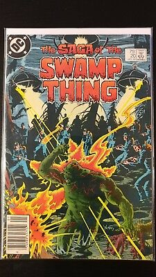 Saga Of The Swamp Thing #20 *First Alan Moore issue!!*