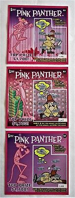 Pink Panther Instant Lottery Tickets from DE.