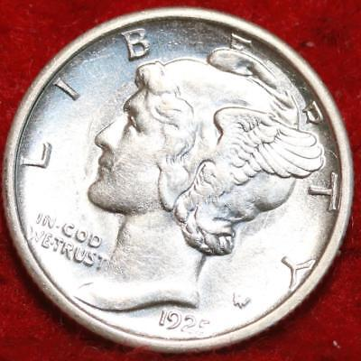 Uncirculated 1925-S San Francisco Mint Silver  Mercury Dime