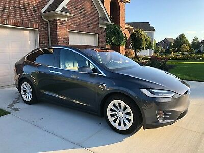 2016 Tesla Model X Black 2016 Tesla Model X 17,000 Miles Midnight Silver Metalic