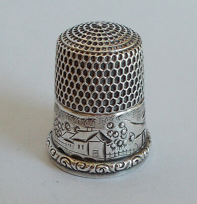 Sterling Silver Thimble - Simons - Cottages