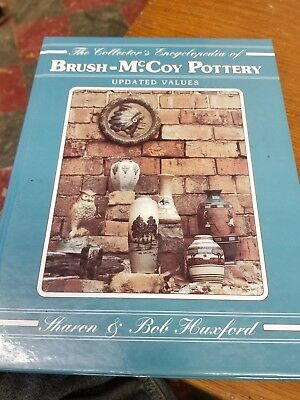 Brush-McCoy Pottery Book Huxford  1996 price guide