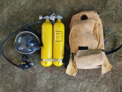 Vintage Survivair Self Contained Breathing Apparatus SCBA 2550 PSI