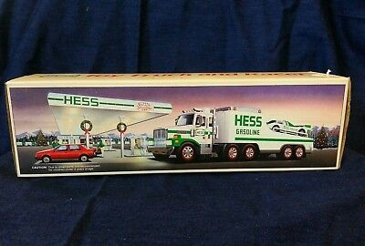 1991 Hess Toy Truck and Racer in original box New!