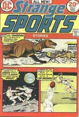 Strange Sports Stories (1973 series) #2 in Fine condition. DC comics