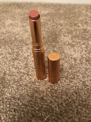 Ted Baker Nude Tinted Lip Balm in Gold Coloured Case New