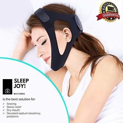 Anti Snoring Chin Strap - Physician Approved Snoring Chin Strap