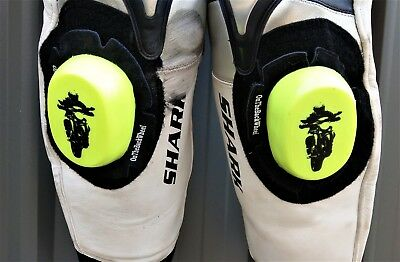 OnTheBackWheel Knee Sliders - Fluro Yellow - FREE SHIPPING!