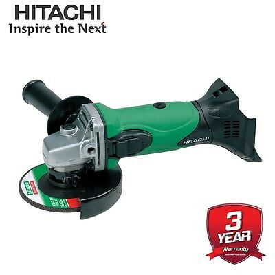 "Hitachi 18V Li-Ion Cordless Slide 5"" (125mm) Angle Grinder Skin Australian Stock"