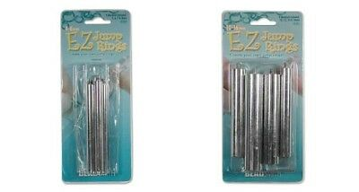 2 EZ JUMP RING MAKER Jewelry Craft Tools ~ Large + Small Size: 8 Mandrel 4-16mm