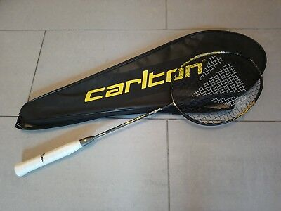 Carlton Vapour Trail Elite Badminton Racket + Thermobag Tasche UVP 160€