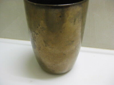 Daisy Ware  Cup  ....gold Crackle
