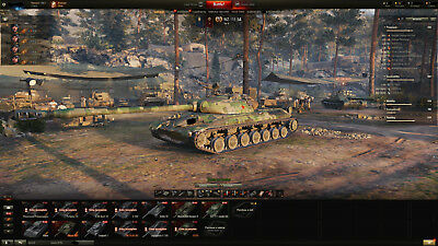 World Of Tanks Account with email | 67% win ratio | 3200 wn8 | 47 PREMIUM TANKS