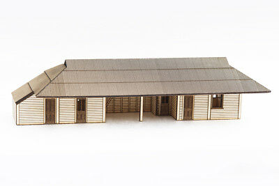 HO Scale South Australian Railways Wooden Country Station Kit (Altiques)