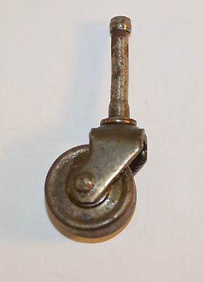 Vintage Metal Wheel Furniture Caster