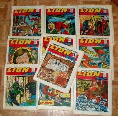 Lion  Comic  10 Great Issues From  1972/3  (Lot 2)