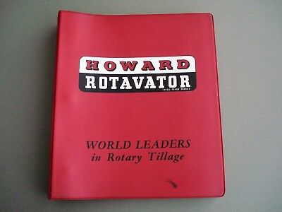 Howard  Rotavator  Sales  Guide   &  Workshop  Services  Manual  1962