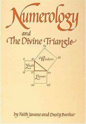 Numerology and the Divine Triangle by Dusty Bunker 9780914918103