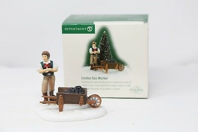 Dept 56 Dickens Village ~ London Gas Worker ~ Item #56.58576