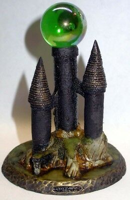 Neil Eyre Designs Halloween Dungeon Dragon Witch Castle Marble Crystal Ball upic