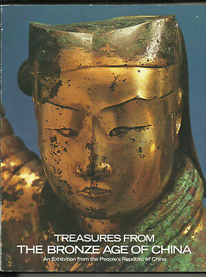 """""""TREASURES FROM THE BRONZE AGE OF CHINA"""" Huge Exhibition Catalog. Many Photos!"""