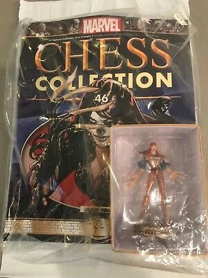 Marvel Chess Collection #46 Lady Deathstrike 2015 Sealed new